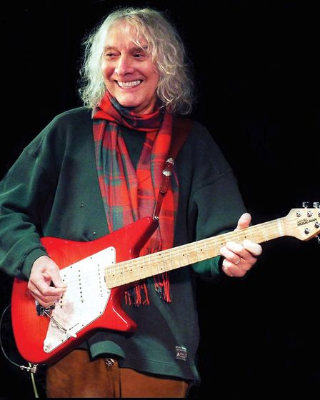 double grammy award winner Albert Lee, a member of The Everley Brothers Band. Picture: OEPLive!