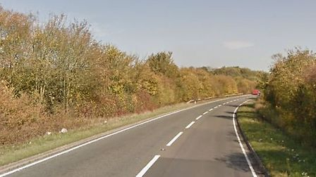 The A120 has been closed by Essex Police following a serious collision at Coggeshall Picture: GOOGL