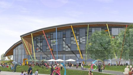 The proposed Northern Gateway leisure development in Colchester envisaged by Turnstone Estates Pict
