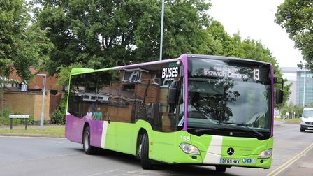 Ipswich Buses has brought more safety measures onto its services. Picture: IPSWICH BUSES