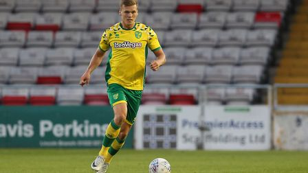 Sean Raggett has been released by Norwich following a decent loan spell at Portsmouth. Photo: James