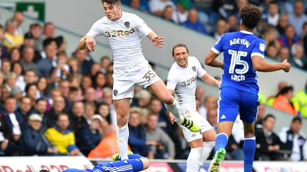Conor Shaughnessy is a free agent after not quite being able to break into the Leeds team. Photo: PA