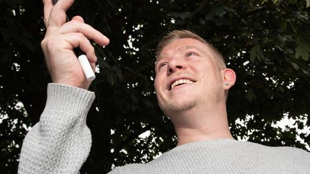Ipswich magician and entertainer Robbie James has won the title of Entertainer of the Year in the Ea
