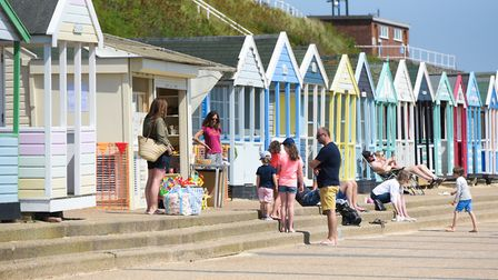 Businesses in Southwold rely on the town's tourism industry Picture: SARAH LUCY BROWN