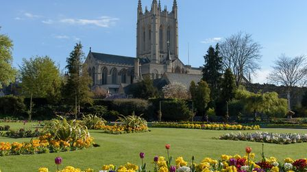 St Edmundsbury Cathedral. Picture: MARK ROPER/GETTY IMAGES/iSTOCKPHOTO