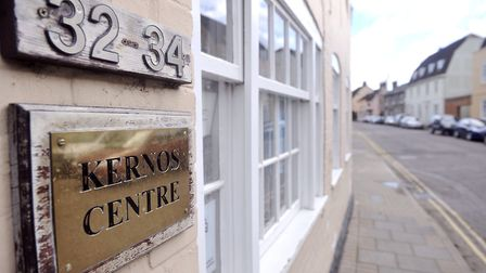 Reverend Mumford is raising money for The Kernos Centre in Friar Street in Sudbury. Picture: SU ANDE
