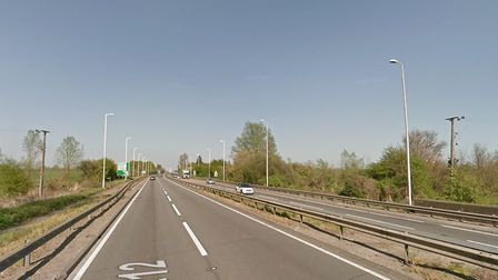 Man in 50s dies in hospital after serious crash in London Road, A12, Witham. Picture: GOOGLE MAPS