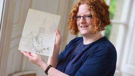 Long Melford Hall discovered never before seen drawings by Beatrix Potter during a spring clean in 2