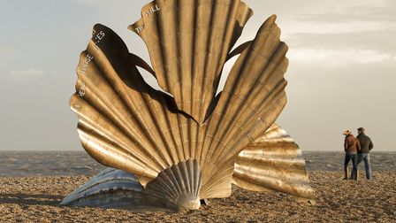 There is a question about this famous sculpture in Aldeburgh, in today's quiz questions. Do you know