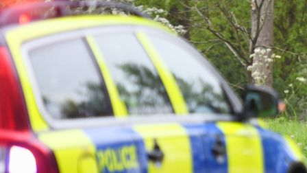 Coggeshall Road in Earls Colne remains closed this morning after a serious crash in the early hours