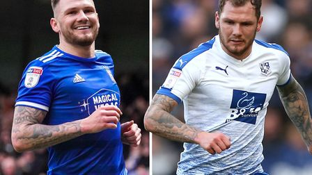 James Norwood joined Ipswich after a stunning 32-goal season for Tranmere. Picture: ARCHANT/PA