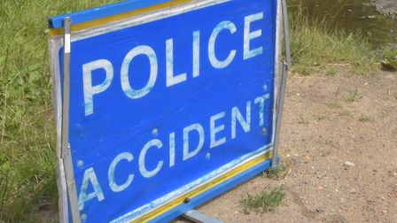 Police were called to an accident near Southwold Picture: Sonya Duncan