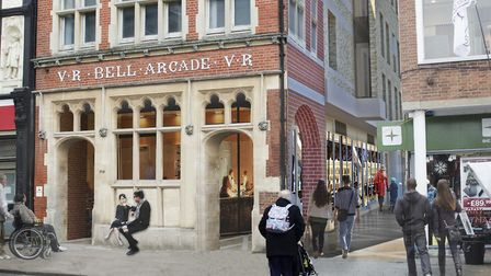 An impression of the old post office in Bury St Edmunds as it will look once works are complete Pic