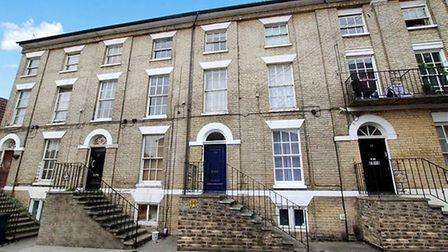 A studio flat in St George's Street, Ipswich, is available for offers over £70,000 Picture: LEADERS