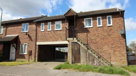 This flat in Harebell Way, Carlton Colville, Lowestoft, has a guide price of £60,000 Picture: YOUR M