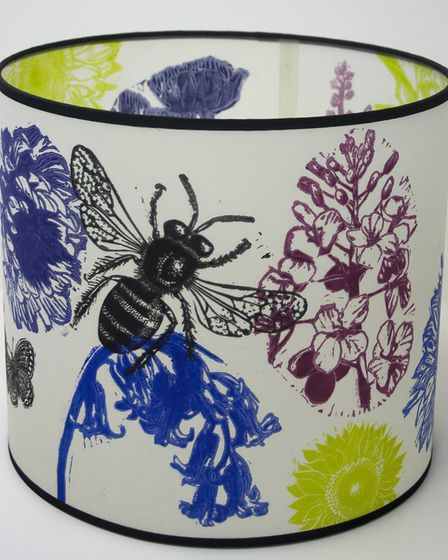Annette Rolsto and Mike Fenton's Bees and Flowers shade. Annette and Mike will be taking part in the