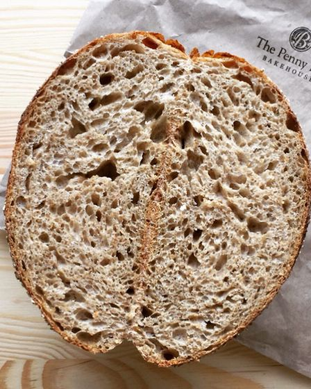 Penny Bun Bakehouse's Hodmedod loaf made with quinoa Picture: HODMEDOD