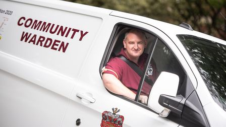 Bradley Smith, Supervisor/Manager of the Community Wardens Team in Sudbury has been chosen as one of