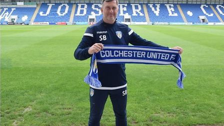 Steve Ball is the new Colchester United head coach. Picture: CUFC