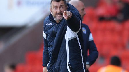 Steve Ball has been named as the new head coach of Colchester United Picture: PAGEPIX LTD