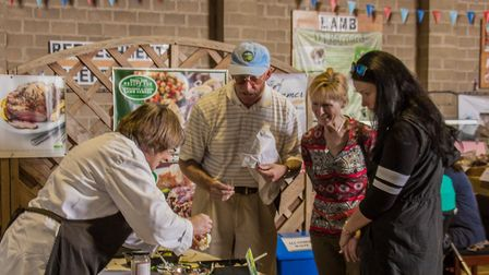 Visitors and stallholders at the Beccles Farmers Market Picture: Charlie Ketchen Photography