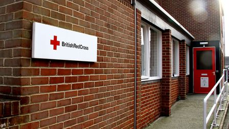The British Red Cross centre has been sat empty for four years Picture: SIMON PARKER