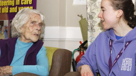 Visits to care homes are set to resume. Picture: PAUL SANWELL