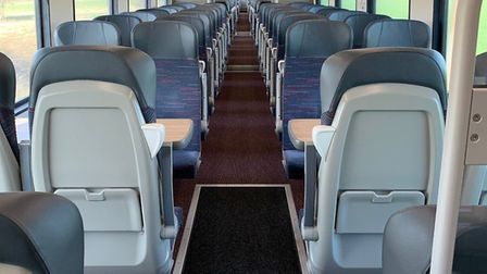 There are still few people travelling by train. Picture: Nathan Long/Greater Anglia