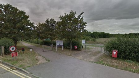The incident happened in Springfield Hall Park, also known as Arun Park, last February Picture: GOO