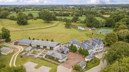 Yew Tree House in Hasketon, near Woodbridge, is on the market with Jackson & Stops for �2,750,000 P