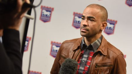 Kieron Dyer says the incident happened at Hintlesham Golf Club. Picture: GREGG BROWN (library pictur