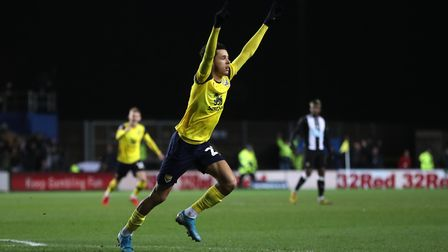West Ham winger Nathan Holland saw a promising loan spell at Oxford United cut short by injury. Phot