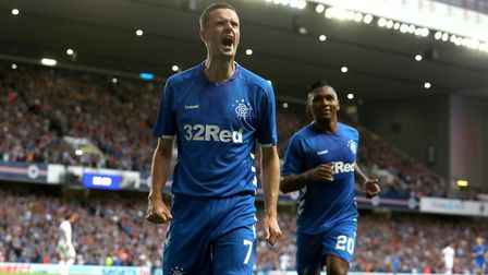 Jamie Murphy's career at Rangers hasn't really got off the ground. He's just had a sparkling loan sp