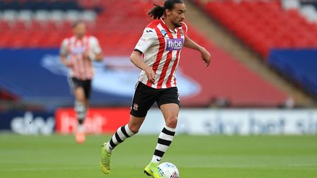 Randell Williams provided 14 assists for Exeter City in League Two last season. Photo: PA