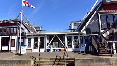 The RNLI shop in Aldeburgh which is currently closed Picture: SARAH LUCY BROWN