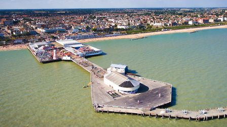 The incident happened near to Clacton Pier. Picture: TENDRING DISTRICT COUNCIL