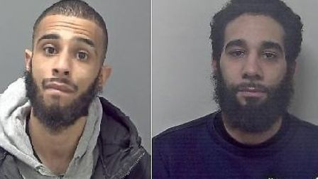 Maverick Dwyer and Christopher Prosser were both jailed at Ipswich Crown Court Picture: SUFFOLK CON