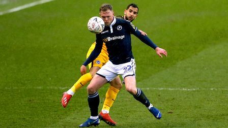 Sunderland have signed striker Aiden O'Brien on a free transfer from Millwall. Photo: PA