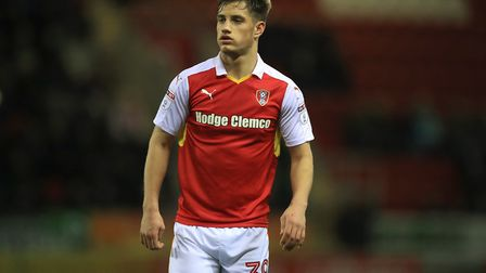 Blackpool paid �200k to sign striker Jerry Yates from Rotherham. Photo: PA