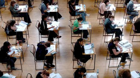 Concerns have been raised that students' GCSE and A-level grades could be downgraded this year. Pict