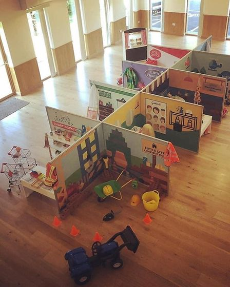 Little City play sessions for young children are set to reopen in Essex, but not yet in Suffolk Pict