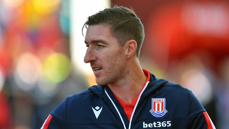 Ward spent a single season with Stoke City. Picture: PA