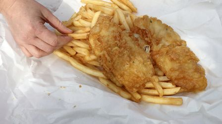 A Suffolk fish and chip shop has been named one of the best in the country by a top chef Picture: GE