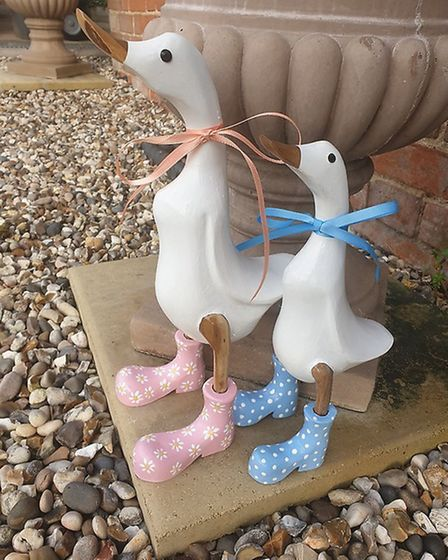 Sarah Underhay's Duck in Boots designs. Picture: SARAH UNDERHAY/SUNFLOWER ARTISTRY
