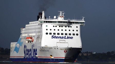 Will passengers on Stena's arrival in Harwich tomorrow have to quarantine for 14 days? Picture BRIAN