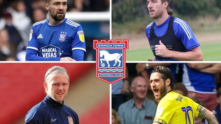 From top left, clockwise, Gwion Edwards, Stephen Ward, Danny Graham and David Cornell have all been