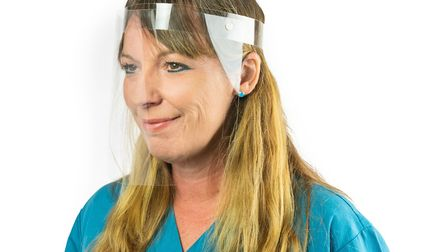 A woman wearing a mask Picture: PEERLESS PLASTICS & COATINGS