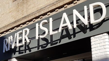 River Island in Ipswich. Picture: NEIL PERRY