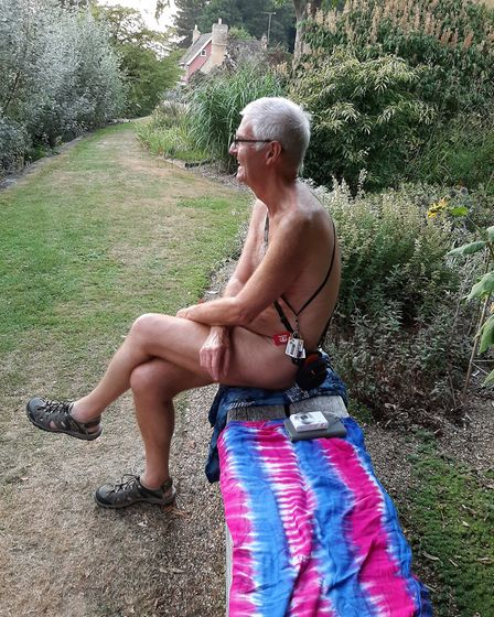 An event at Fullers Mill organised by British Naturism raised £700 for the East Anglian Air Ambulanc