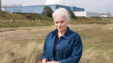 Actress Diana Quick is campaigning against the building of Sizewell C nuclear power station. Picture